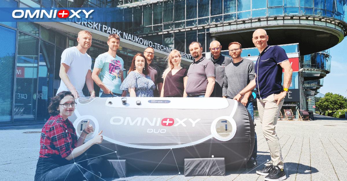 Otwarcie biura OMNIOXY w Pomorskim Parku Naukowo Technologicznym w Gdyni