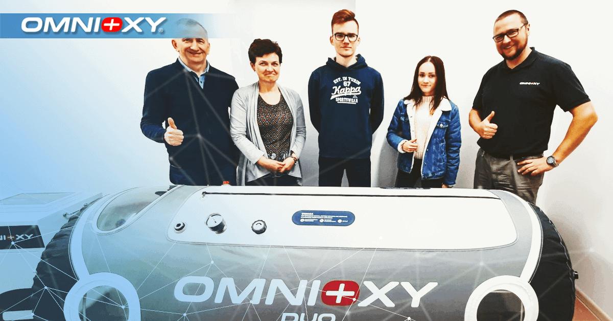 Komora hiperbaryczna OMNIOXY DUO w Ciechanowie