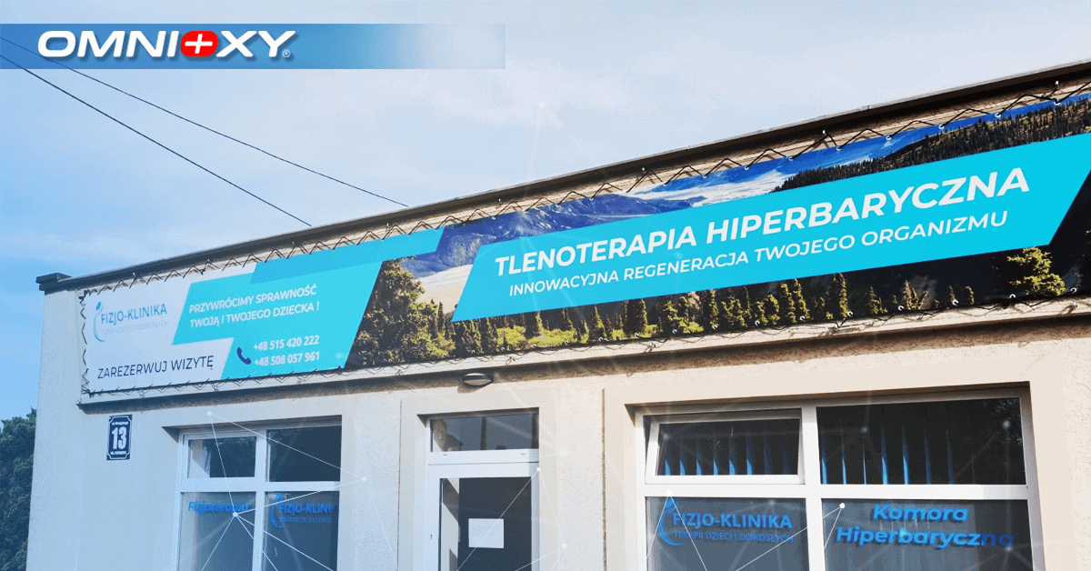 Nasza komora hiperbaryczna w Fizjo-klinice w Bartoszycach