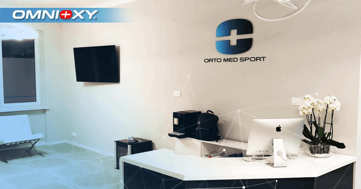 Instalacja komór hiperbarycznych OMNIOXY w klinikach ORTOMEDSPORT